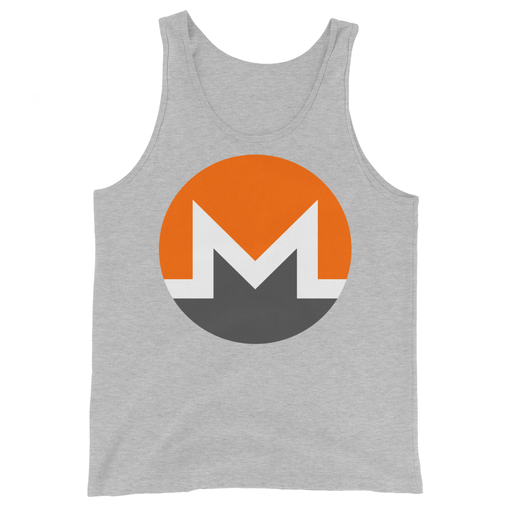 Monero Tank Top Athletic Heather XS - zeroconfs