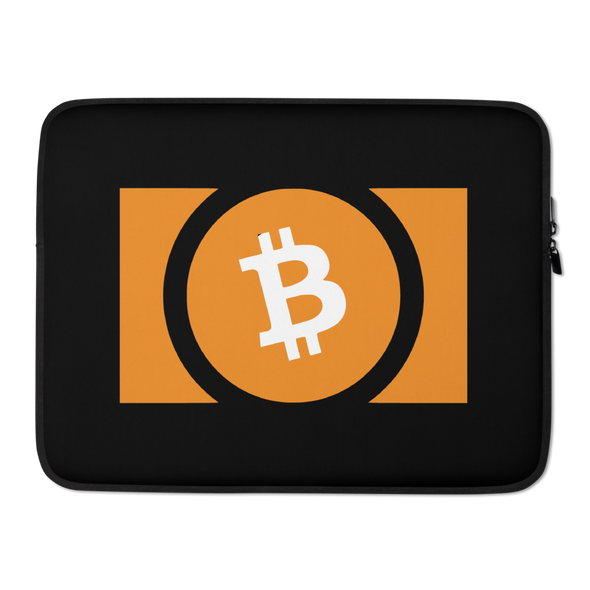 Bitcoin Cash Laptop Sleeve 15 in  - zeroconfs