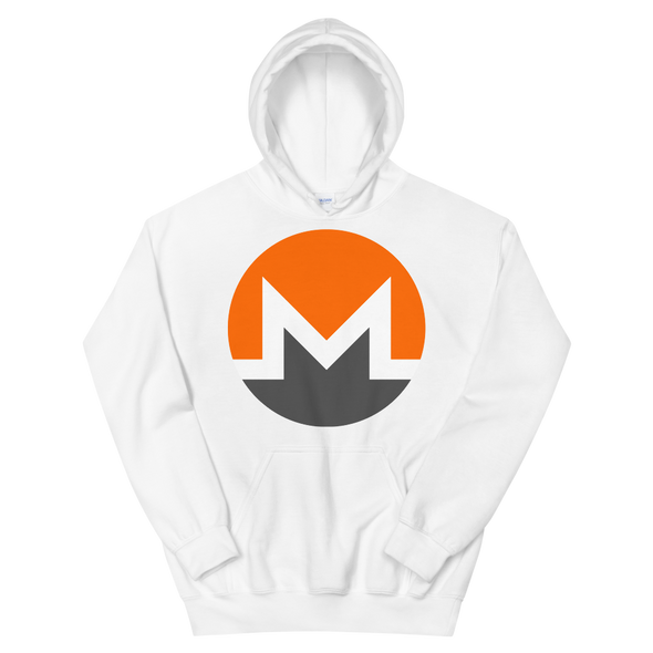 Monero Women's Hooded Sweatshirt White S - zeroconfs