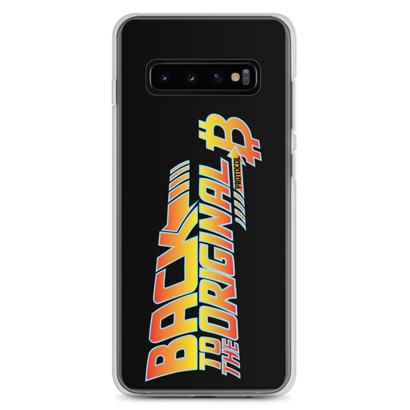 Back To The Original Bitcoin Protocol Samsung Case Black Samsung Galaxy S10+  - zeroconfs