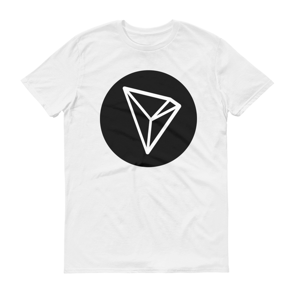 Tron Short-Sleeve T-Shirt White S - zeroconfs
