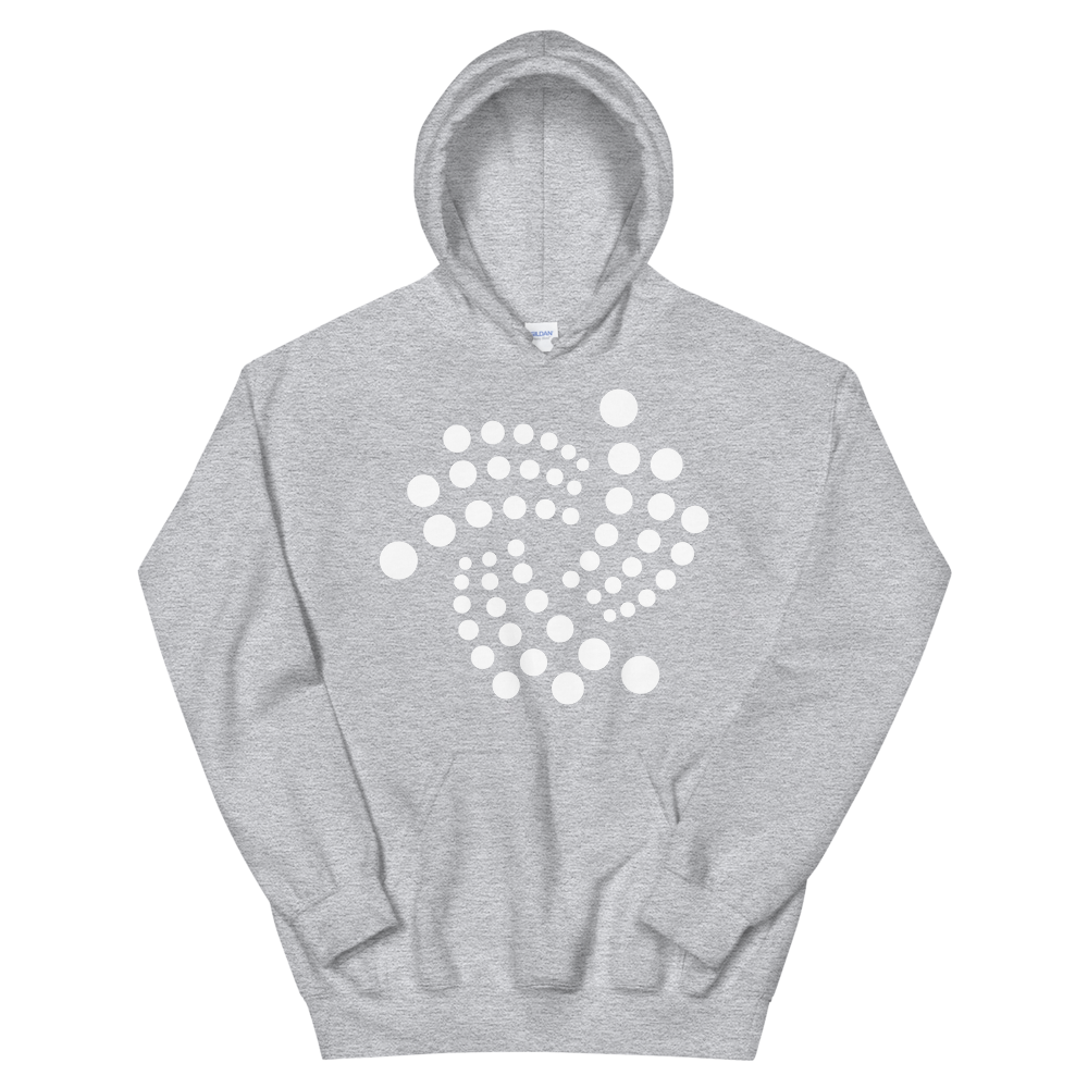IOTA Women's Hooded Sweatshirt Sport Grey S - zeroconfs