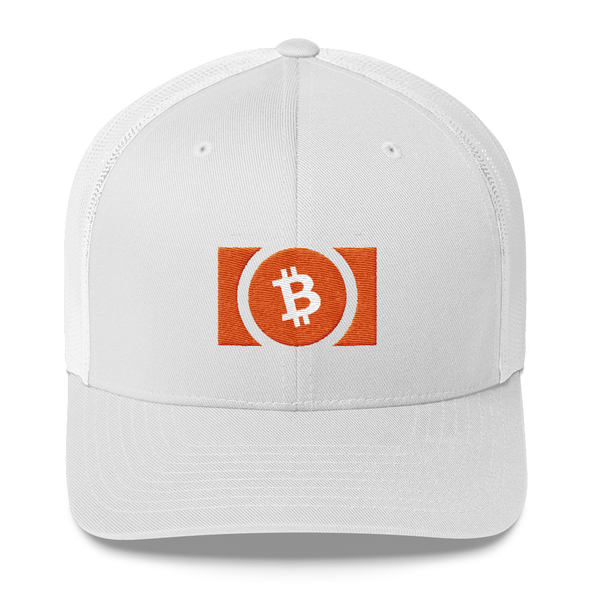 Bitcoin Cash Trucker Cap White  - zeroconfs