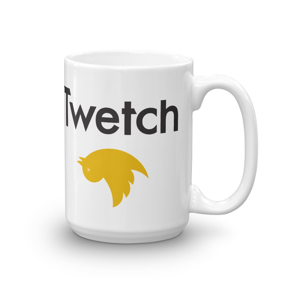 Twetch Bitcoin SV Coffee Mug 15oz  - zeroconfs