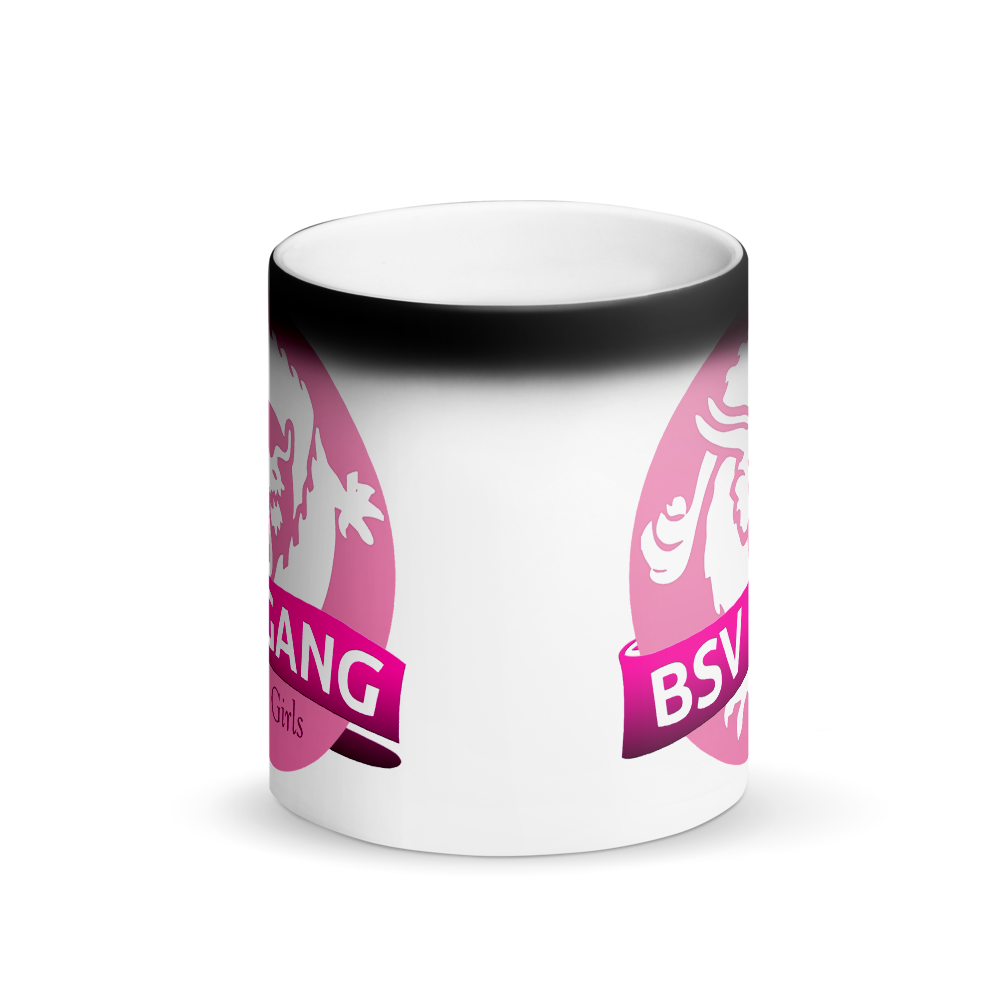 Bitcoin SV Gang Girls Magic Mug   - zeroconfs