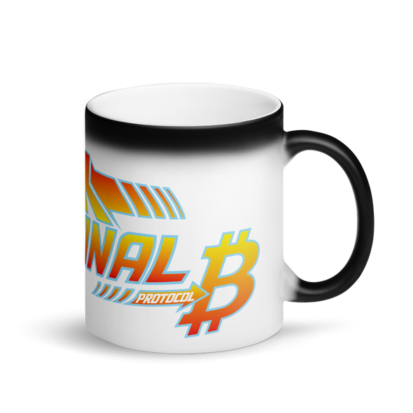 Back To The Original Bitcoin Protocol Magic Mug Default Title  - zeroconfs