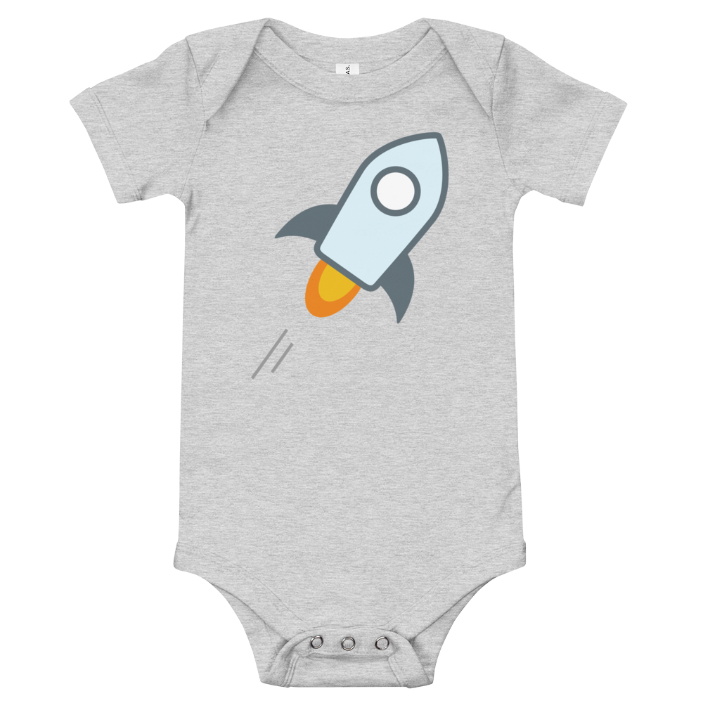 Stellar Baby Bodysuit Athletic Heather 3-6m - zeroconfs