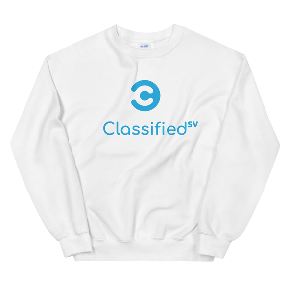 Classified SV Sweatshirt White S - zeroconfs