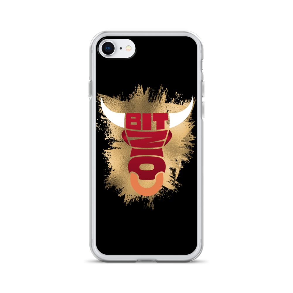 Bitcoin Bull iPhone Case iPhone SE  - zeroconfs