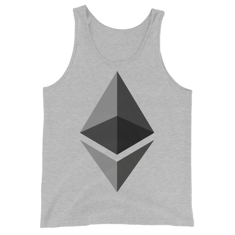 Ethereum Tank Top Athletic Heather XS - zeroconfs