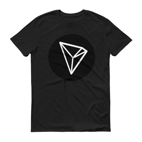 Tron Short-Sleeve T-Shirt Black S - zeroconfs