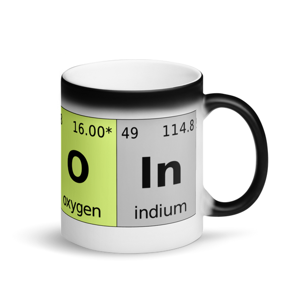Bitcoin Periodic Table Magic Mug Default Title  - zeroconfs