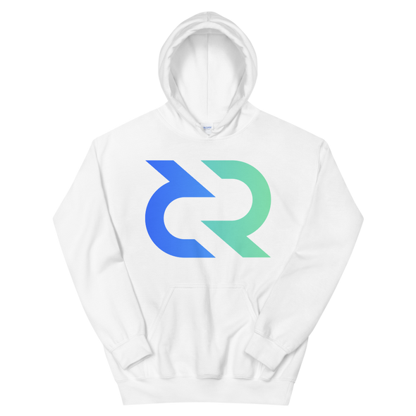 Decred Women's Hooded Sweatshirt White S - zeroconfs
