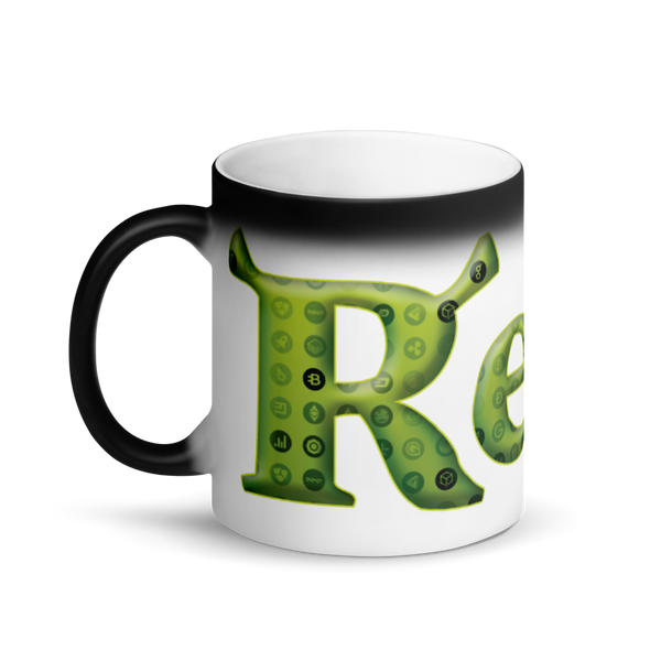 Rekt Crypto Magic Mug   - zeroconfs