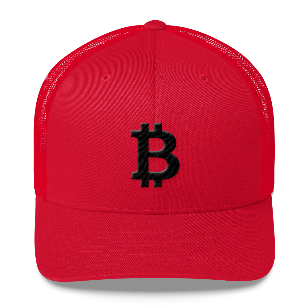 Bitcoin Blacknet SE Trucker Cap Red  - zeroconfs