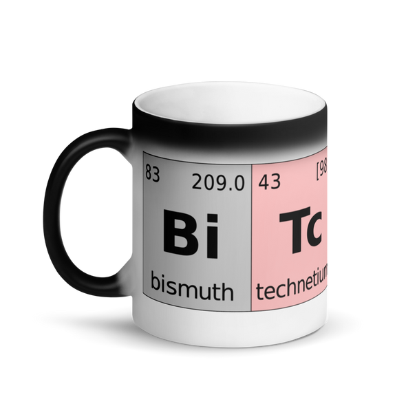 Bitcoin Periodic Table Magic Mug   - zeroconfs