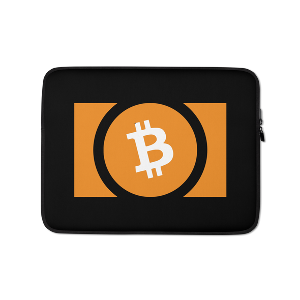 Bitcoin Cash Laptop Sleeve 13 in  - zeroconfs