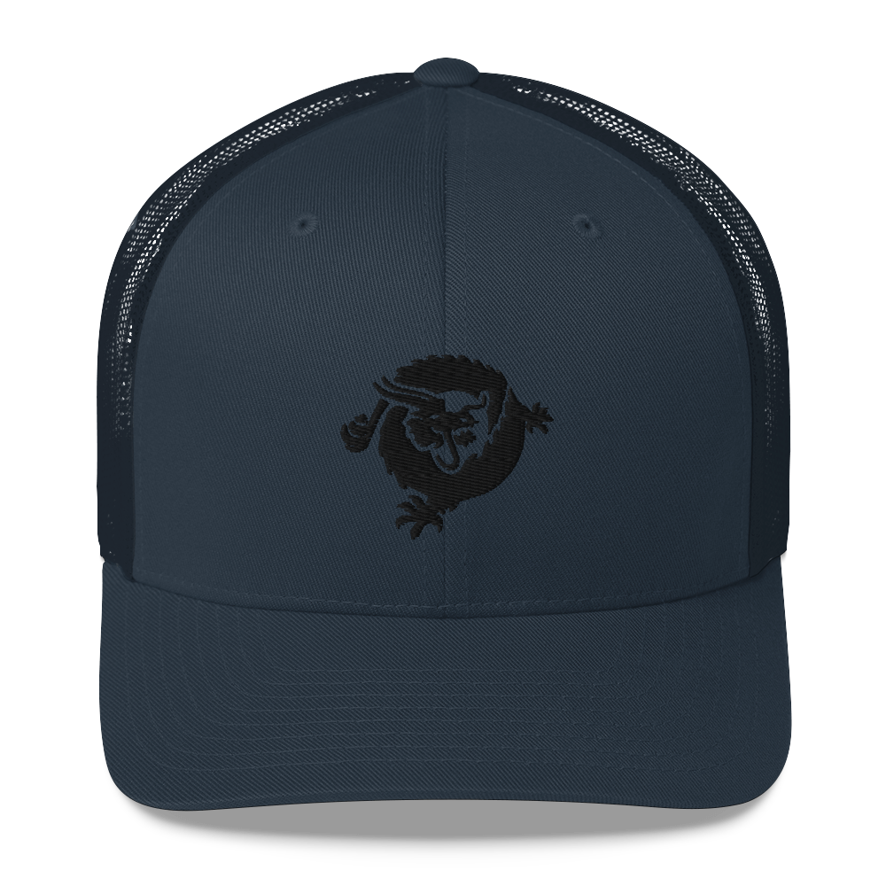 Bitcoin SV Dragon Trucker Cap Black Navy  - zeroconfs