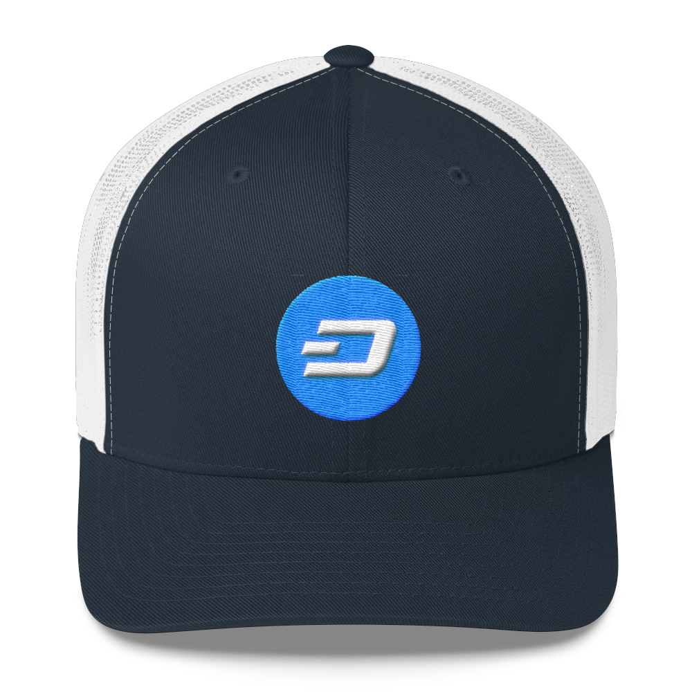 Dash Trucker Cap Navy/ White  - zeroconfs