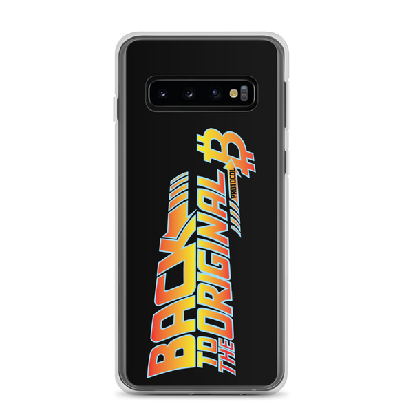Back To The Original Bitcoin Protocol Samsung Case Black Samsung Galaxy S10  - zeroconfs