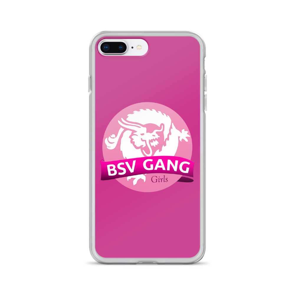 Bitcoin SV Gang Girls iPhone Case Pink iPhone 7 Plus/8 Plus  - zeroconfs