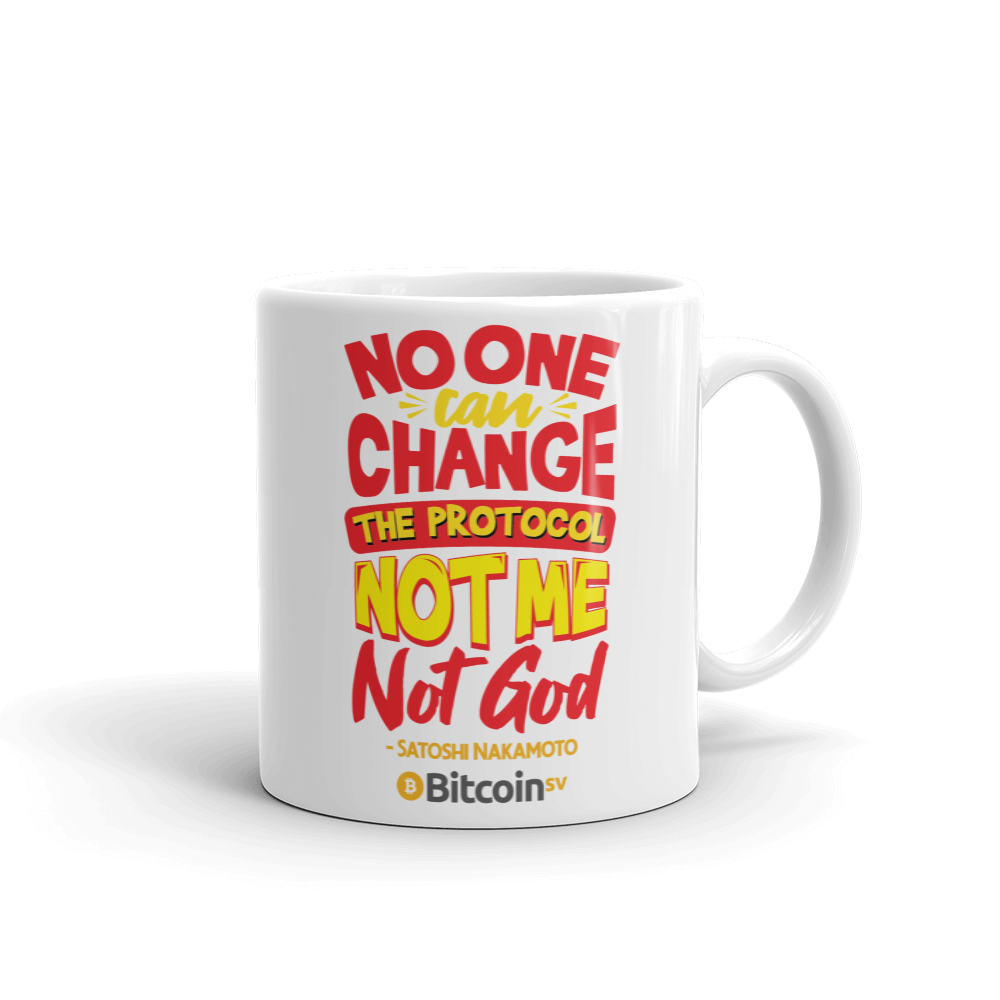 Locked Protocol Bitcoin SV Coffee Mug 11oz  - zeroconfs