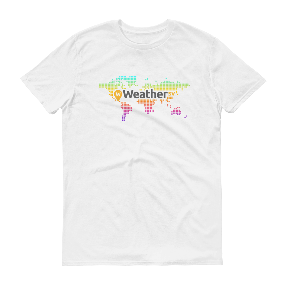 Weather SV Short-Sleeve T-Shirt White S - zeroconfs