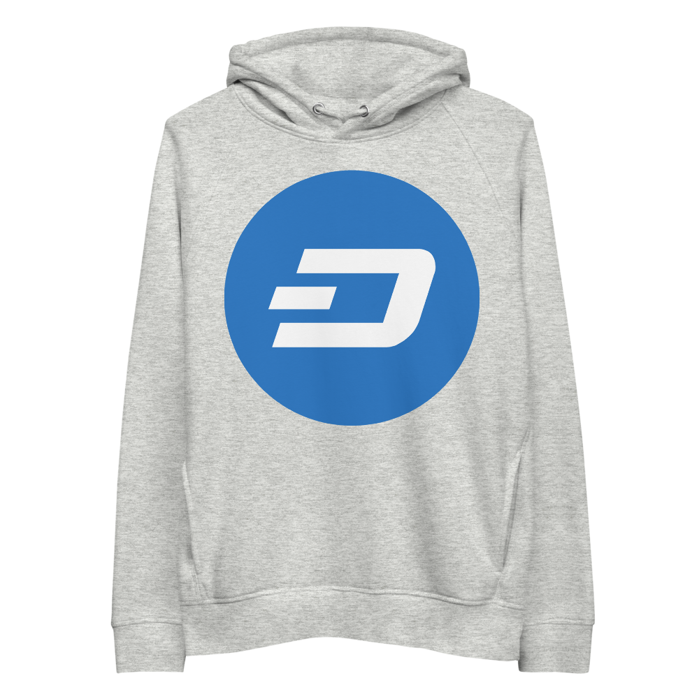 Dash Premium Eco Hoodie Heather Grey S - zeroconfs