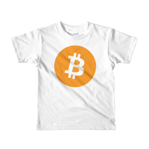 Bitcoin Core Short Sleeve Kids T-Shirt White 2yrs - zeroconfs