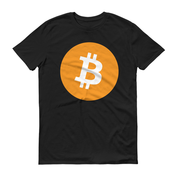 Bitcoin Core Short-Sleeve T-Shirt Black S - zeroconfs