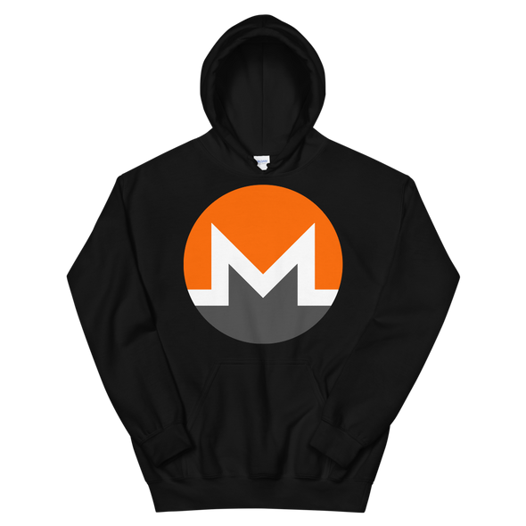 Monero Women's Hooded Sweatshirt Black S - zeroconfs