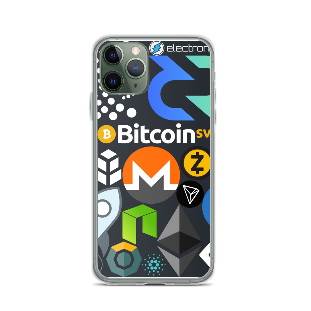 Crypto Calling iPhone Case iPhone 11 Pro  - zeroconfs