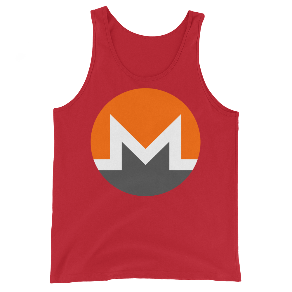 Monero Tank Top Red XS - zeroconfs