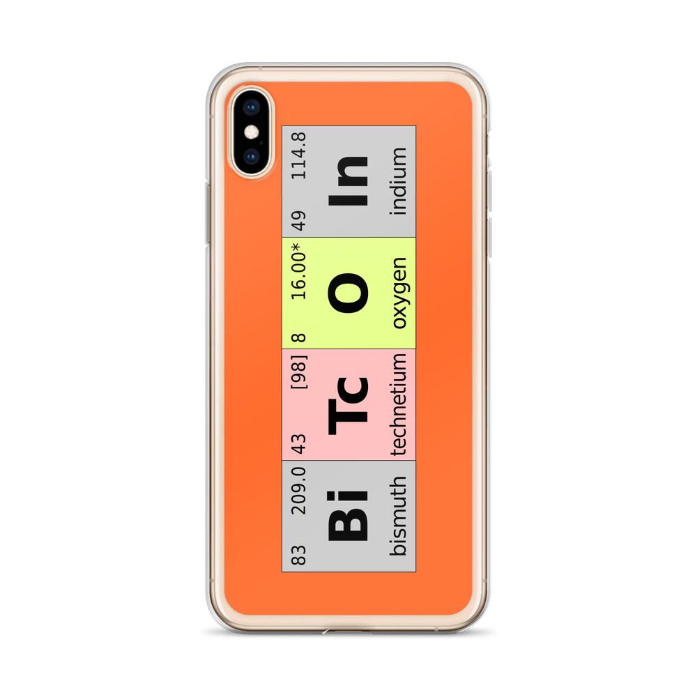 Bitcoin Periodic Table iPhone Case   - zeroconfs