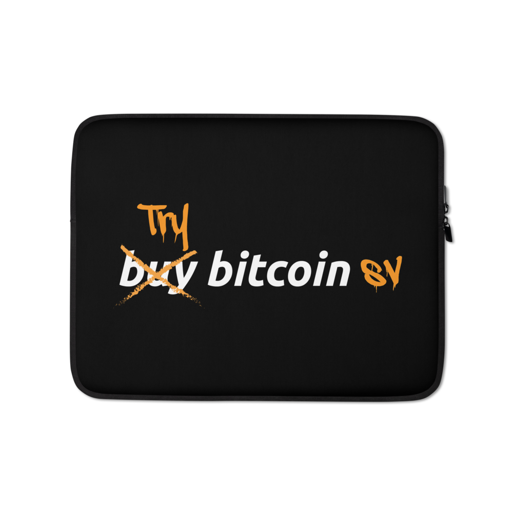 Try Bitcoin SV Laptop Sleeve 13 in  - zeroconfs