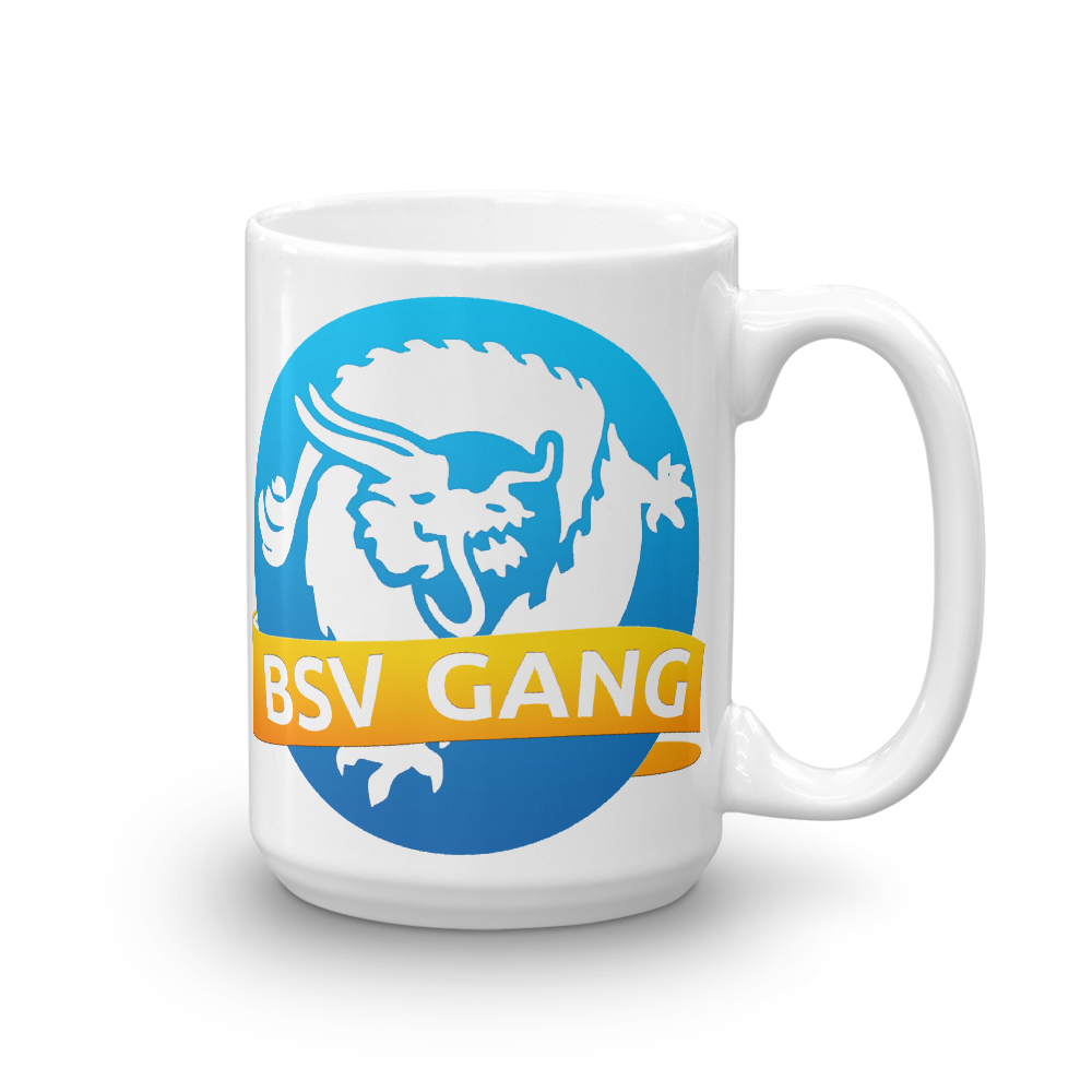 Bitcoin SV Gang Coffee Mug 15oz  - zeroconfs