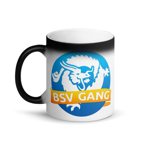 Bitcoin SV Gang Magic Mug   - zeroconfs