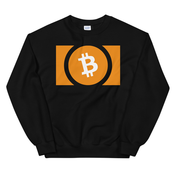 Bitcoin Cash Sweatshirt Black S - zeroconfs