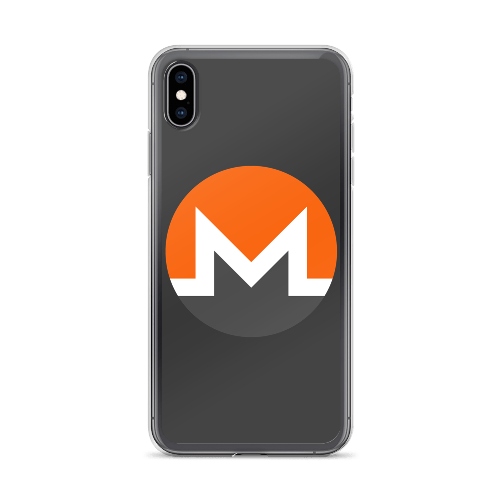 Monero iPhone Case iPhone XS Max  - zeroconfs