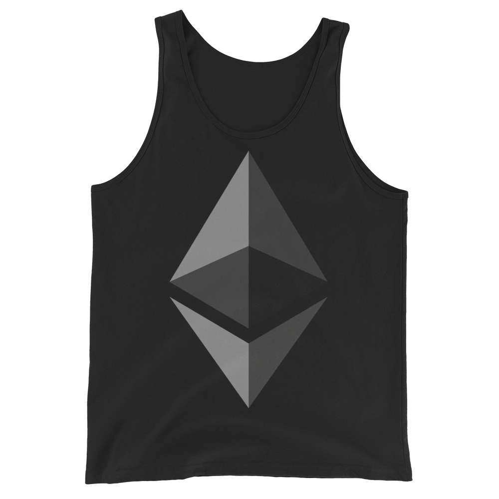 Ethereum Tank Top Black XS - zeroconfs