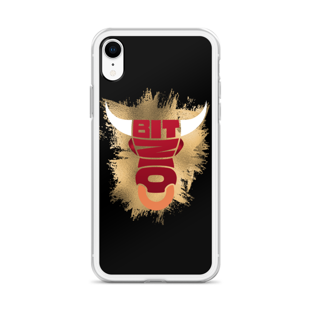 Bitcoin Bull iPhone Case   - zeroconfs