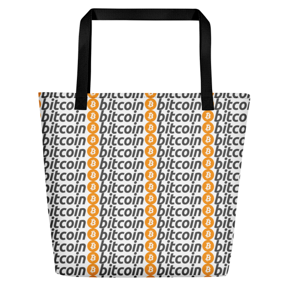 Bitcoins Beach Bag   - zeroconfs