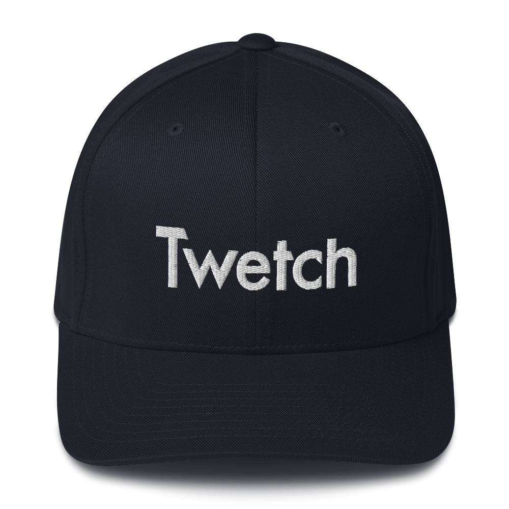 Twetch Flexfit Cap Dark Navy S/M - zeroconfs