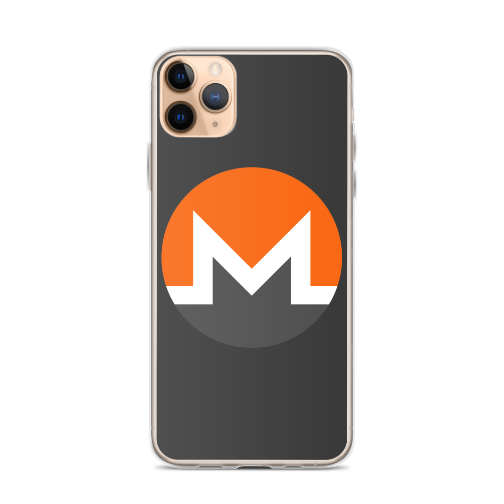 Monero iPhone Case iPhone 11 Pro Max  - zeroconfs