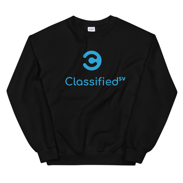 Classified SV Sweatshirt Black S - zeroconfs