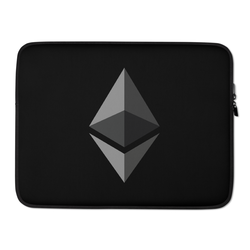 Ethereum Laptop Sleeve 15 in  - zeroconfs