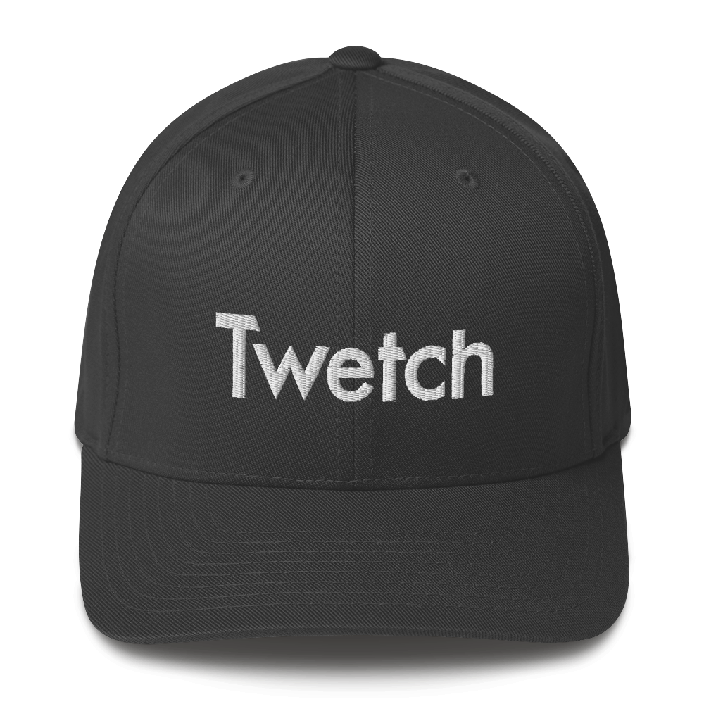 Twetch Flexfit Cap Dark Grey S/M - zeroconfs