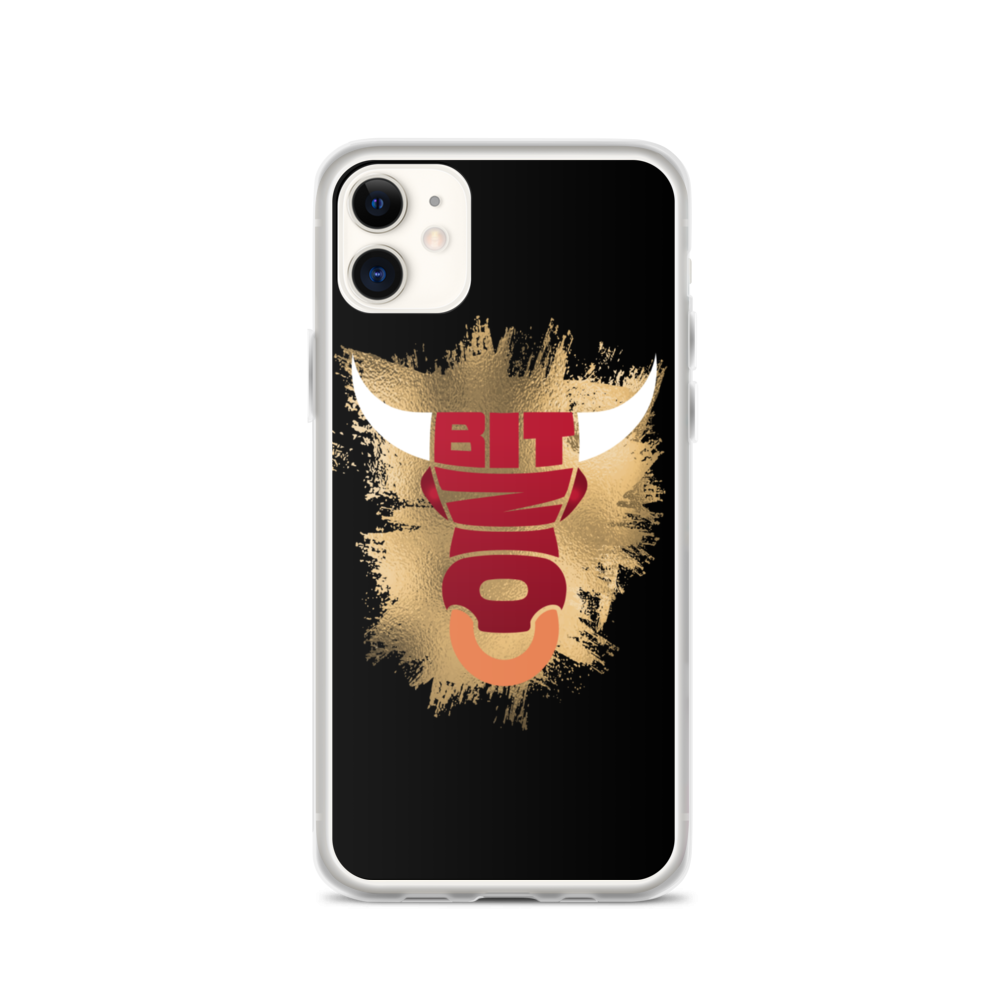 Bitcoin Bull iPhone Case iPhone 11  - zeroconfs