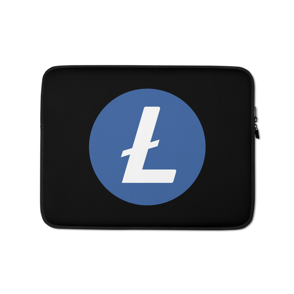 Litecoin Laptop Sleeve 13 in  - zeroconfs