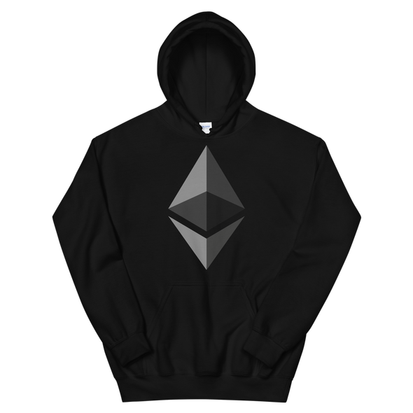 Ethereum Women's Hooded Sweatshirt Black S - zeroconfs